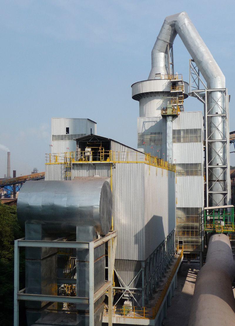 Kardemir reinigt Sinterabgase mit Meros-Technik von Siemens / Kardemir to clean sinter off-gases with Meros technology from Siemens